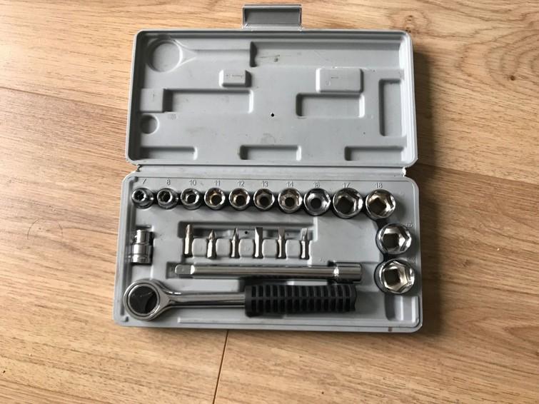 Dopsleutelset socket wrench set