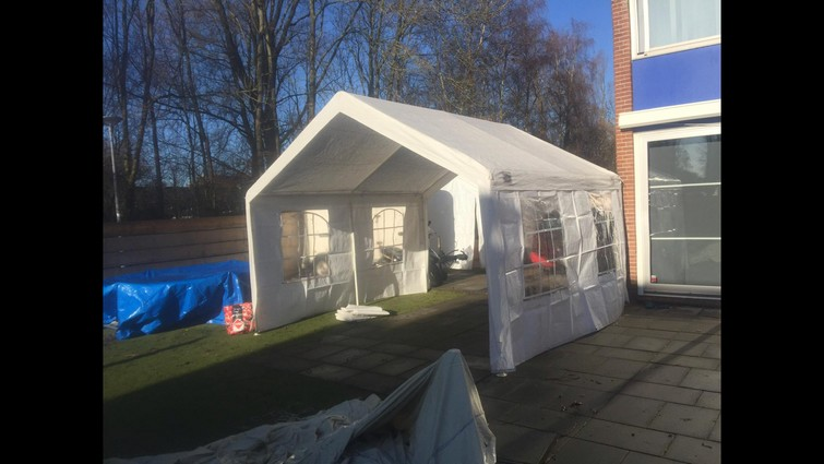 Partytent 4x3