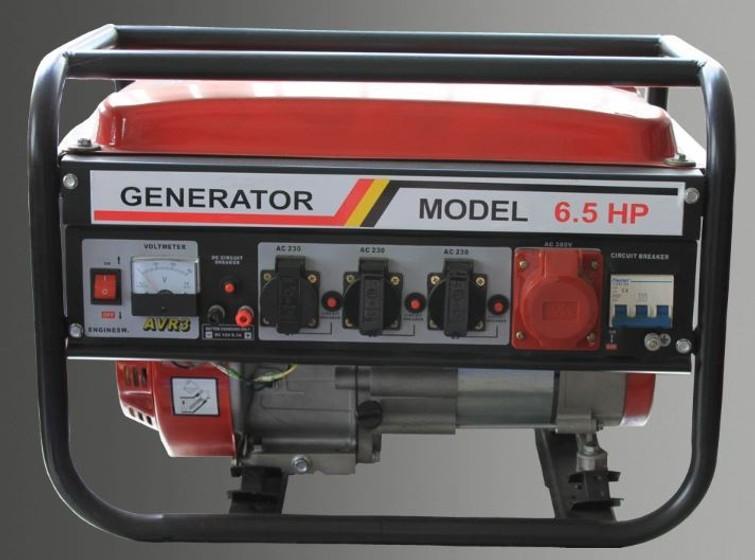 aggregaat 2,5 kW, benzine