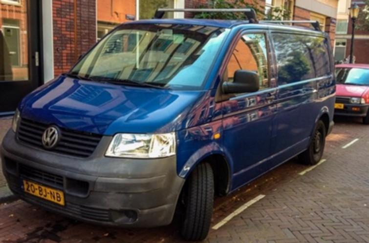 Bestelbus Volkswagen Tranporter
