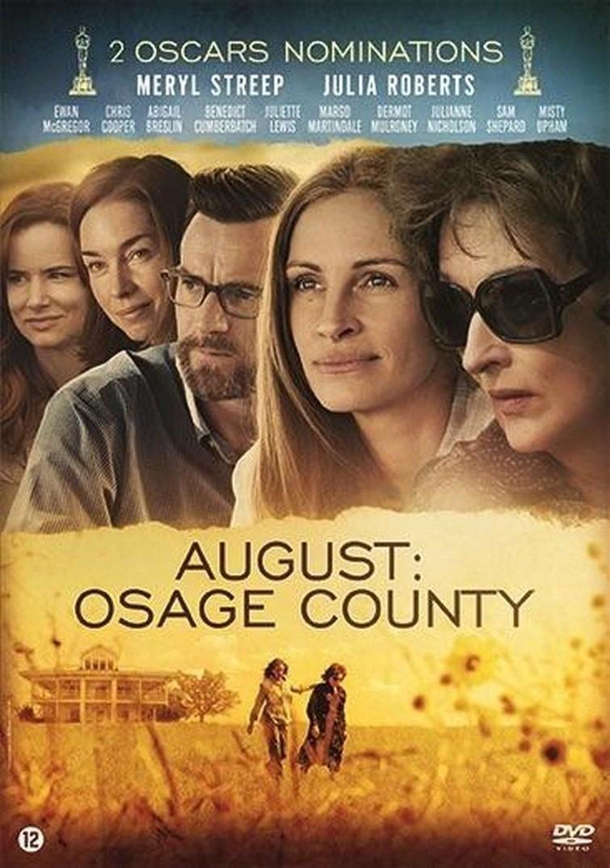 August Osage County (Meryl Streep & Julia Roberts) 2013. - DVD