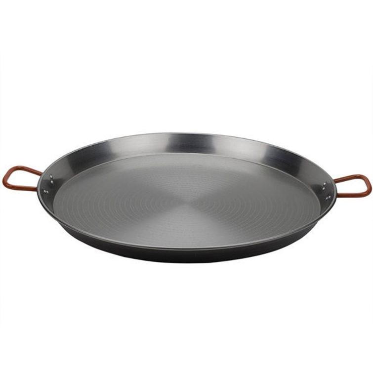 Paella pan +brander en gastank