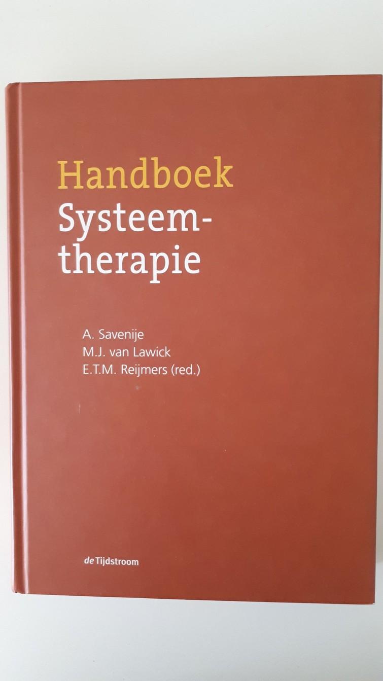 Boek - Handboek Systeemtherapie - A. Savenije, M.J. van Lawick, E.T.M. Reijmers
