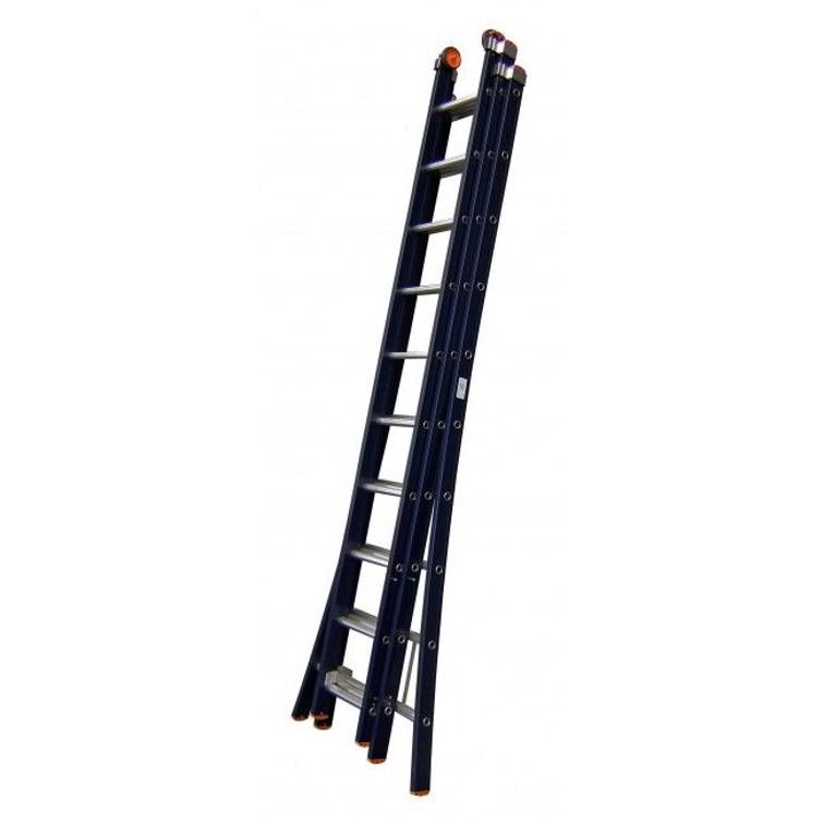 te huur Ladder 3 x 14 sporten Werkhoogte maximaal 1025cm