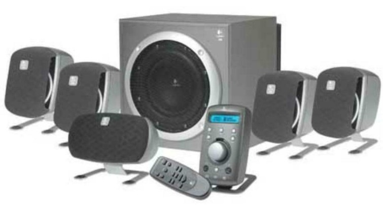 5.1 speakerset Logitech Z-680
