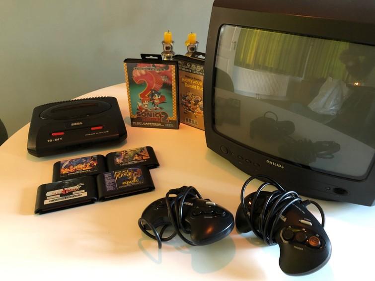 Sega Megadrive (Retro Gaming)