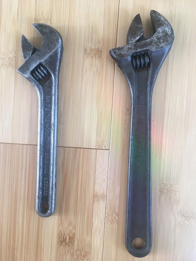 Bahco en Gedore Engelse sleutels