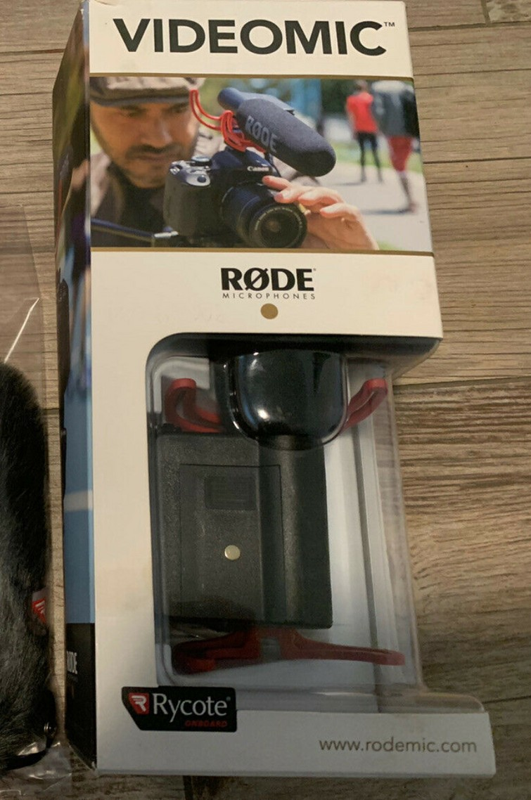 videomic rode rycote microfoon opnemen dslr camera