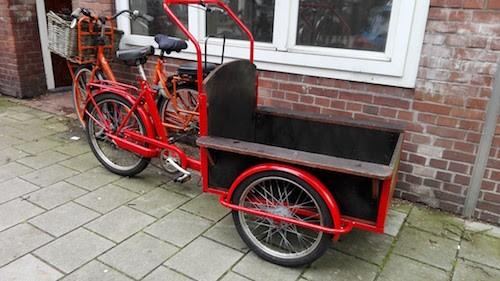 Driewieler transportbakfiets